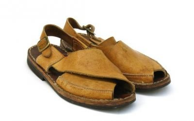The case of the 50 year missing sandals.