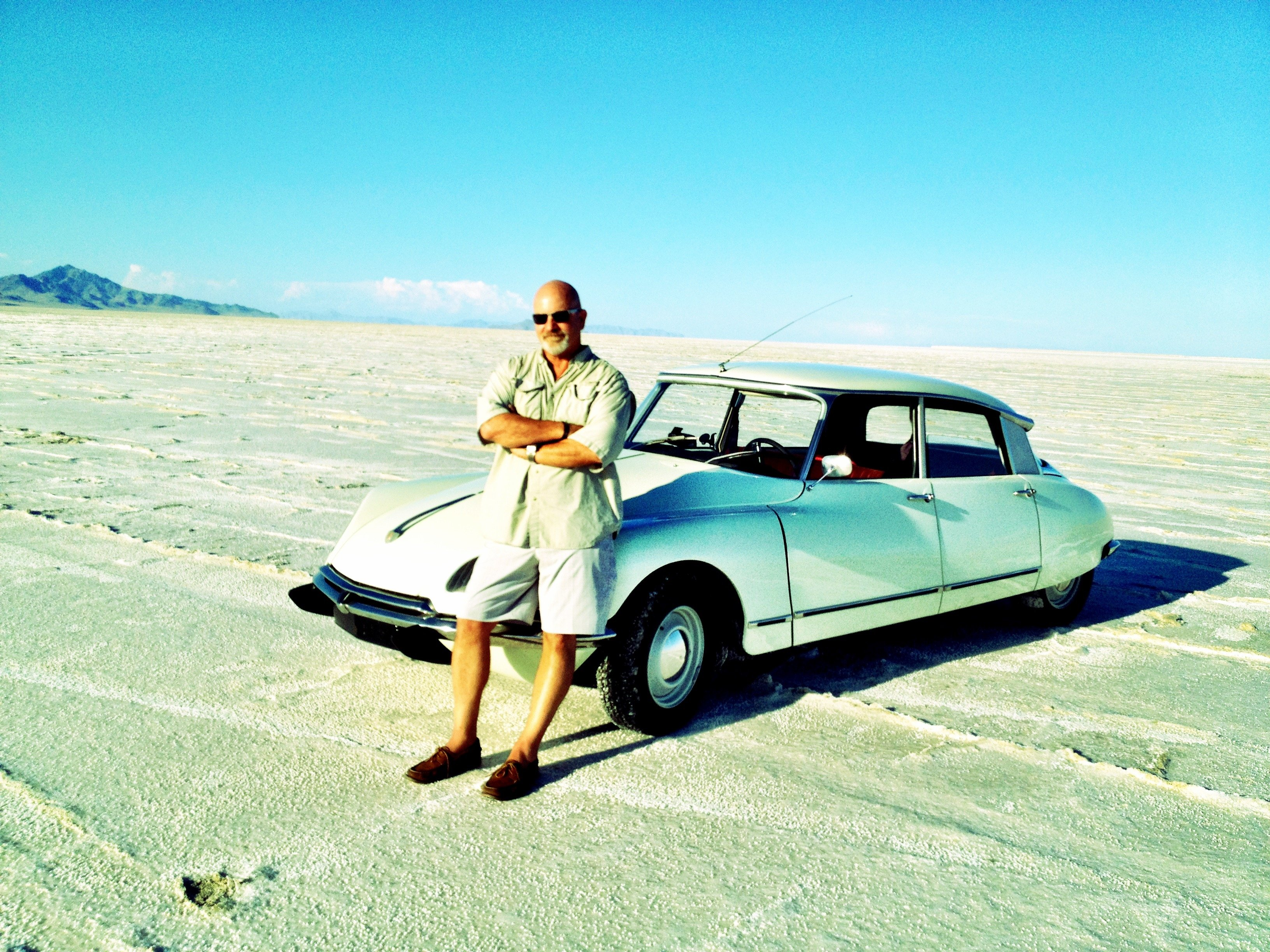 Driving The Goddess Home. The Great American road trip in a French Citroen DS.